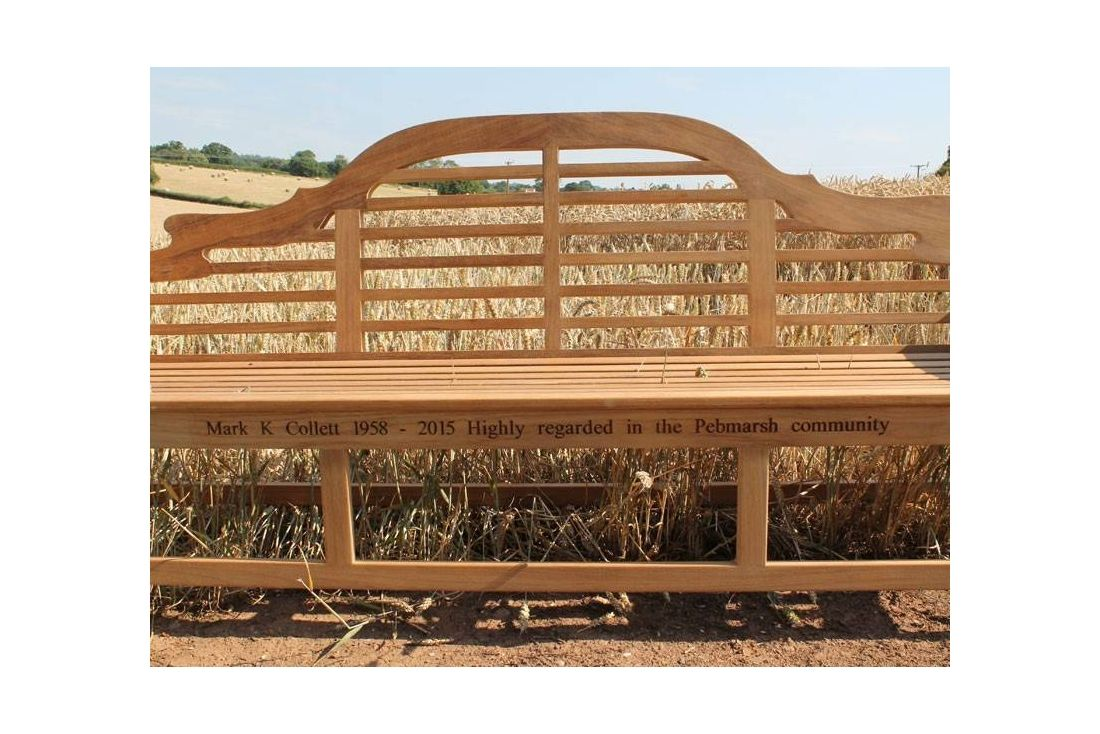 Lutyens 2.4m Bench