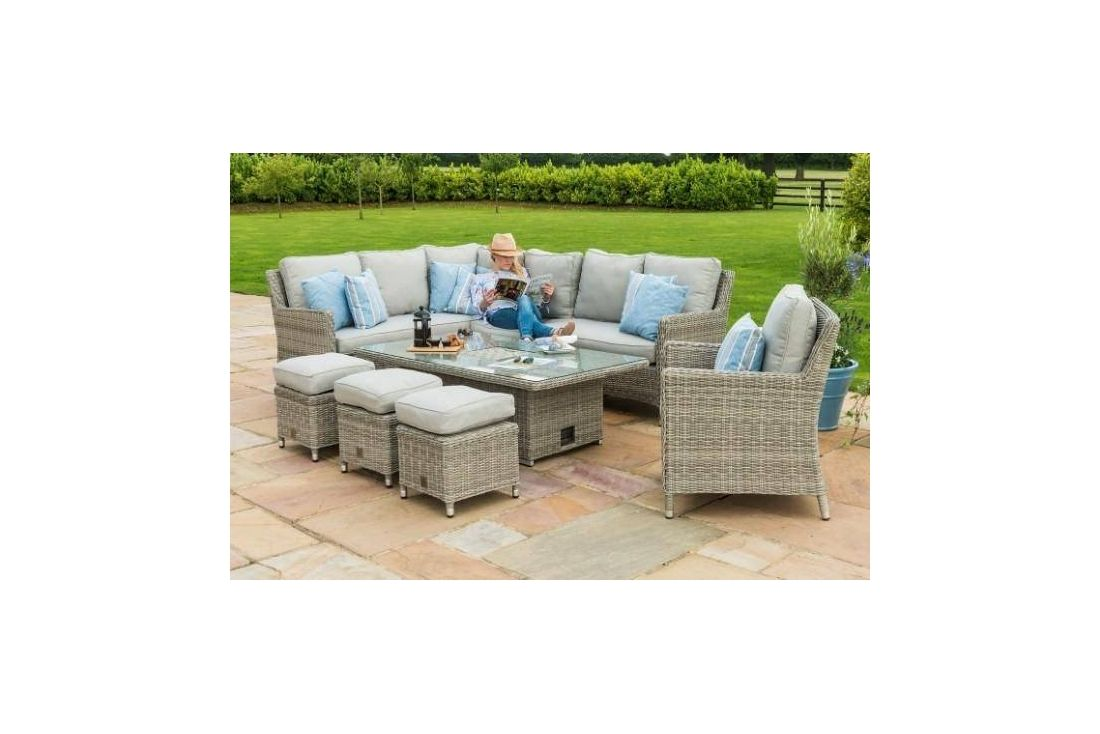 Oxford Venice Corner Dining Set with Chair