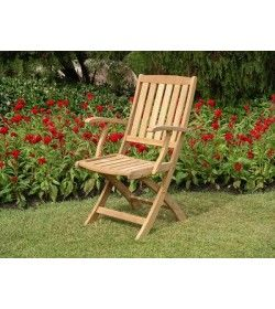 Henley folding armchair