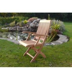 Balmoral FSC Certified folding armchair