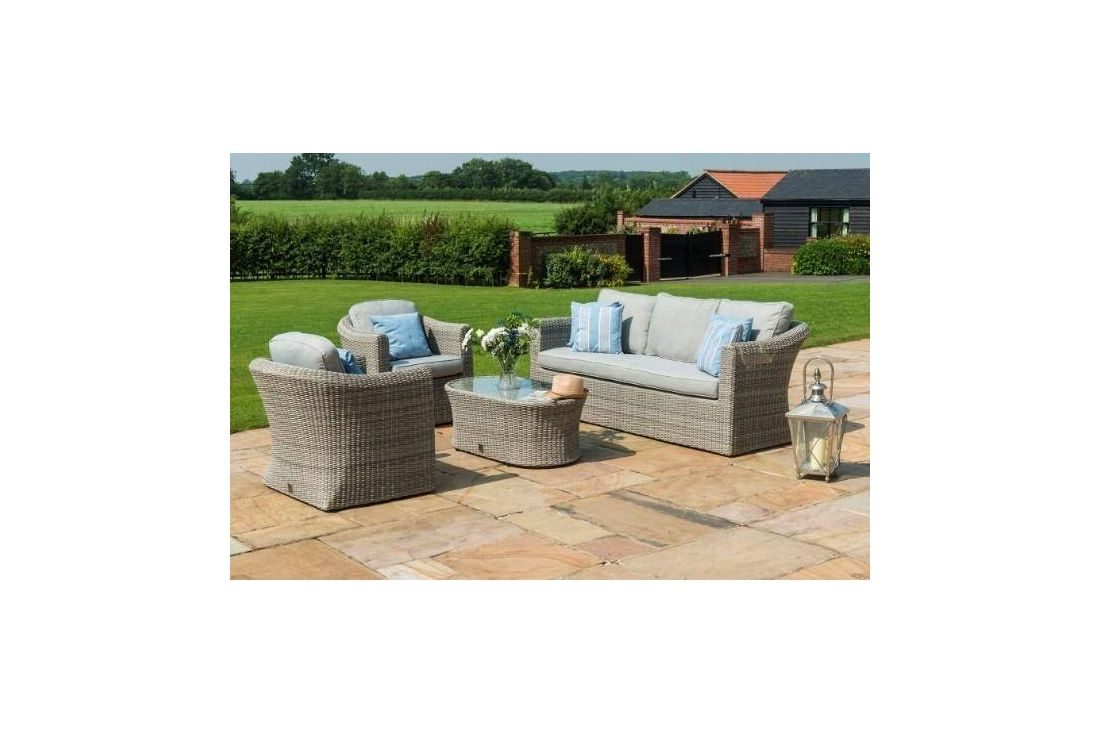 OXFORD 3 SEATER SOFA SET