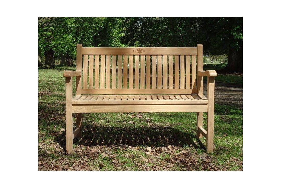 Westminster 1.2m Teak bench
