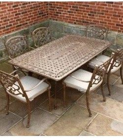 Casino 6 seater Rectangle table & chairs Set
