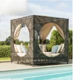 Rattan daybeds & Sun loungers