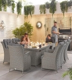 Curved Rattan Dining Sets