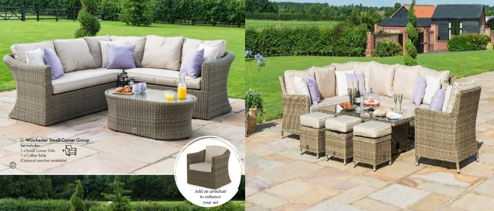 Garden furniture UK provide latest product of UK where the garden is also considered a part of the living space.